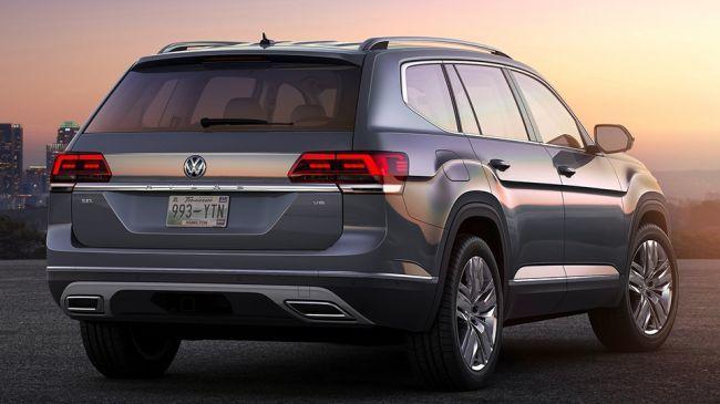 Новейший кроссовер Volkswagen Teramont появится в РФ весной 2018 года