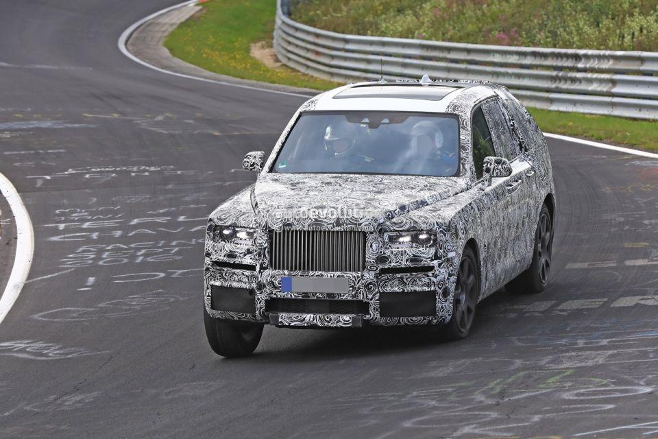 NG покажет тесты нового внедорожника Rolls-Royce Cullinan