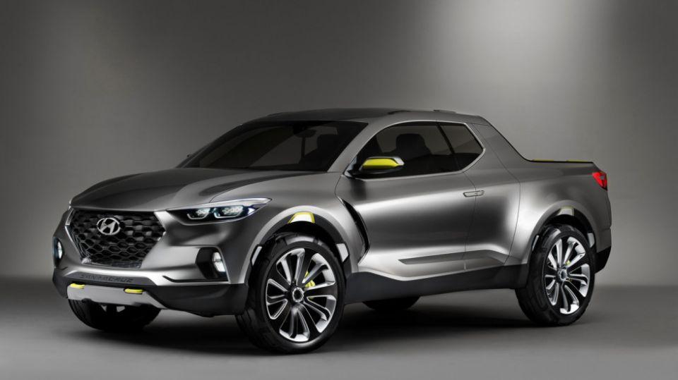 Серийный пикап Hyundai Santa Cruz выйдет в 2020 году
