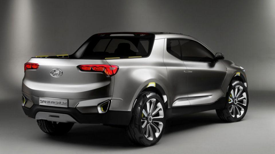 Новый пикап Hyundai Santa Cruz появится в продаже в 2020 году