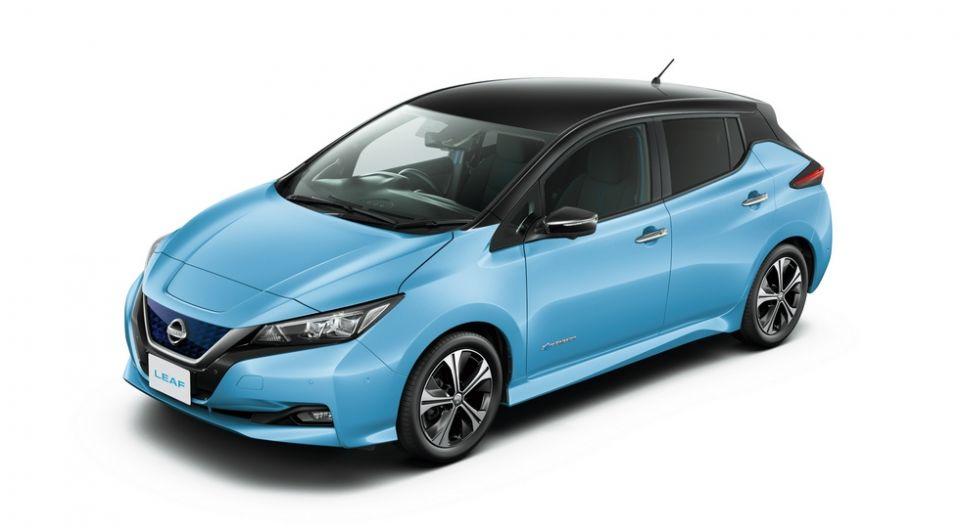 Названа цена на новое поколение электрокара Nissan Leaf