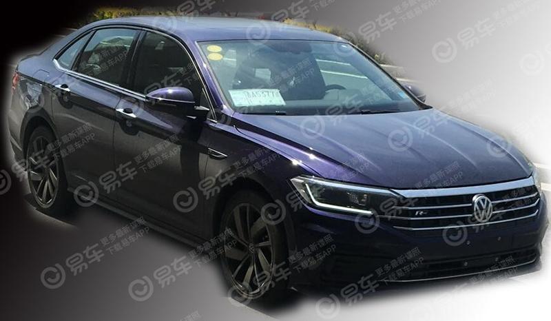 Рассекречена внешность новинки Volkswagen Jetta R-Line