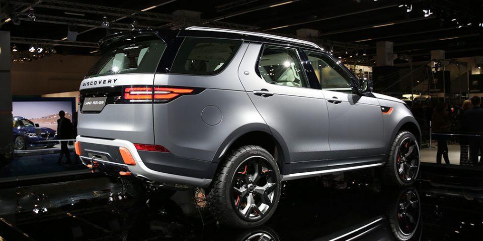 Land Rover закрыла проект по выпуску экстремального Discovery SVX