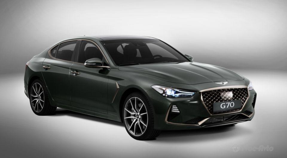 Genesis представит премиальный седан G70 в Российской Федерации 12апреля