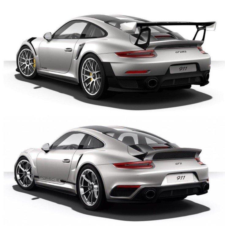 Дизайнеры представили рендер Porsche 911 GT2 RS «Touring Package»