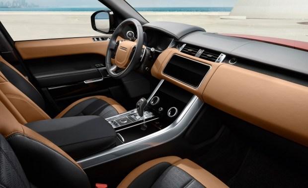 Лэнд-Ровер обновил самый мощнейший Range Rover