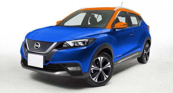 В Сети появился первый рендер нового электрокроссовера Nissan