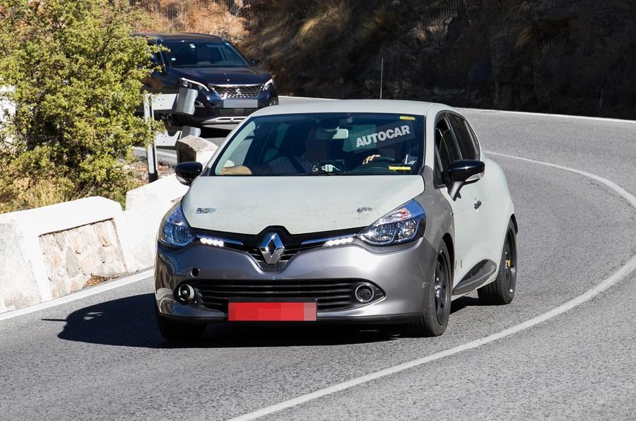 Renault Clio оснастят электрическим двигателем и беспилотными технологиями