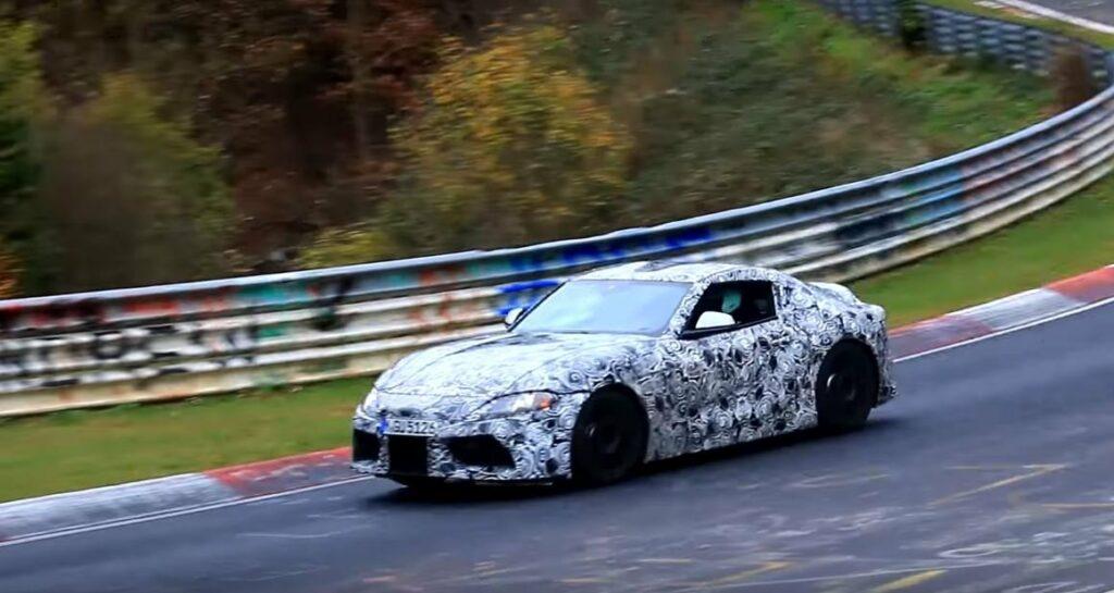 Toyota на скоростные тесты вывела новое поколение Toyota Supra