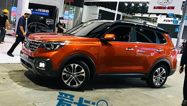 Kia привезла в Гуанчжоу новейший компактный кроссовер