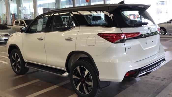Toyota представила в Таиланде обновленный Toyota Fortuner TRD Sportivo 2