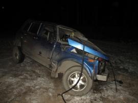 Водитель «Нивы» погиб в ДТП с «Гранд Чероки» на вологодской трассе