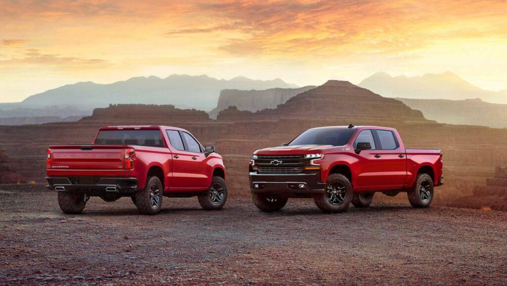 Новый пикап Chevrolet Silverado 2019 рассекретили до дебюта