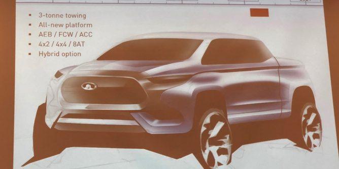 Great Wall выпустит новый пикап Haval для конкуренции с Ford Ranger