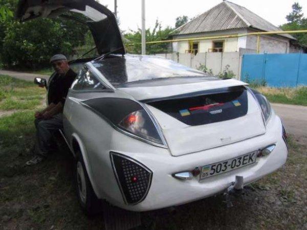 В Украине продают уникальный спорткар на базе ВАЗ-2101 за 3 тыс. долларов