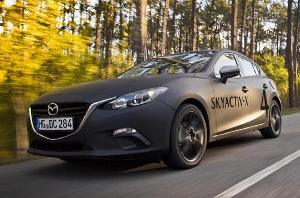 Новый мотор Mazda из Skyactiv-X сокращает расход топлива на 30%
