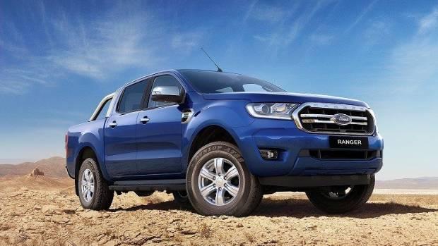 Глобальный пикап Ford Ranger обновили во второй раз