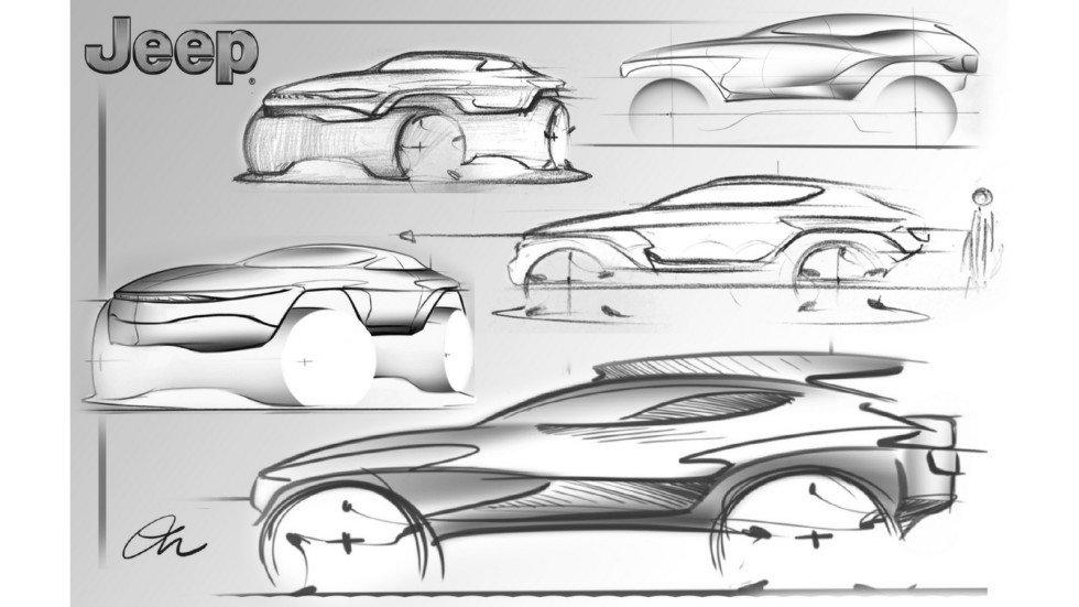 Jeep показал три дизайна для внедорожника Wrangler 2030 года