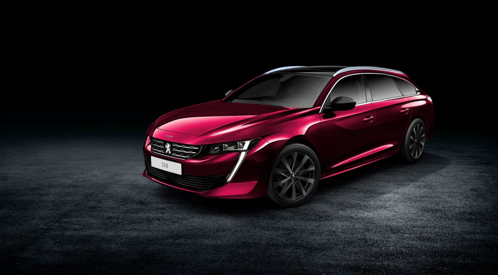 Peugeot анонсировала премьеру нового универсала Peugeot 508 SW