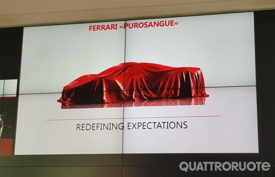 Первый кроссовер Ferrari получит название Purosangue