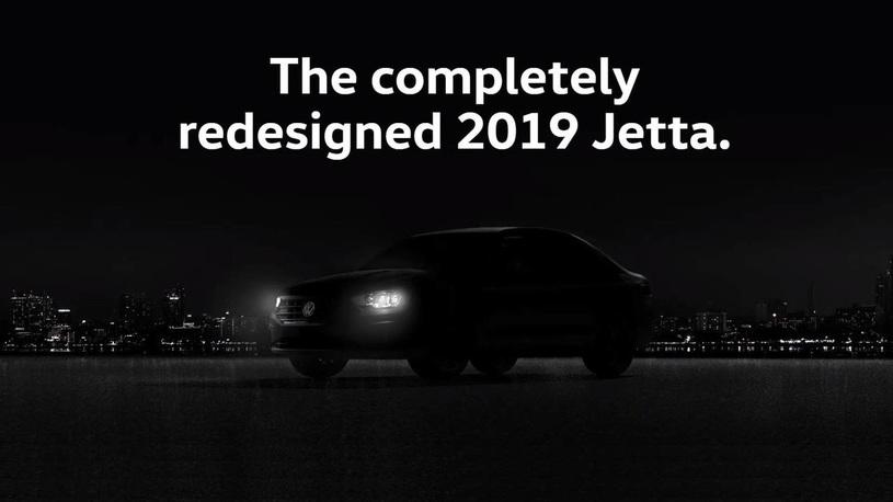 Volkswagen опубликовала тизер новой генерации седана Jetta