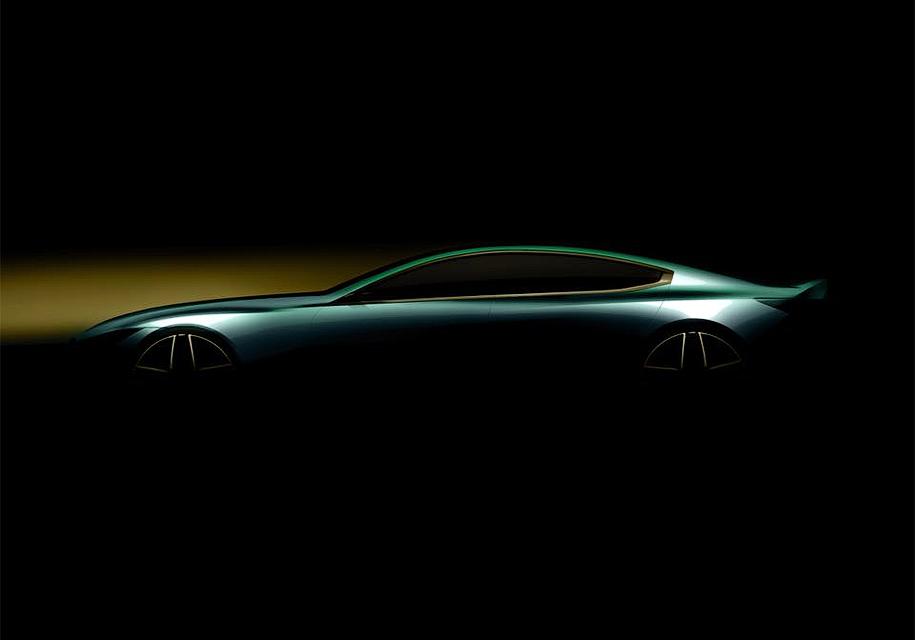 BMW показала интригующий тизер нового BMW 8 Series Gran Coupe