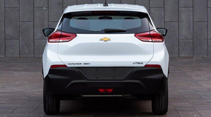 Новый кроссовер Chevrolet Tracker рассекречен до премьеры