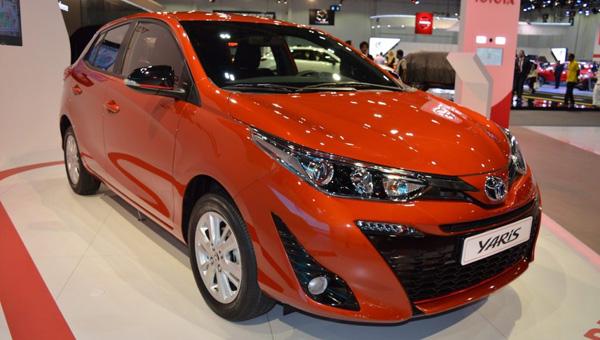 Новый компактный хэтчбек Toyota Yaris представлен в Дубае