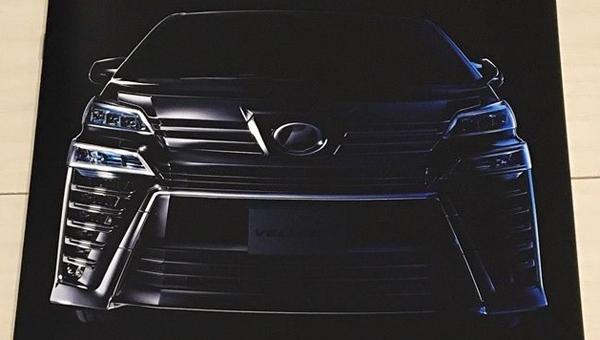 Роскошный минивэн Toyota Vellfire 2018 рассекречен до премьеры
