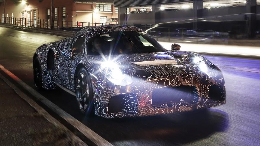 Maserati испугалась показывать новый суперкар MC20 даже онлайн