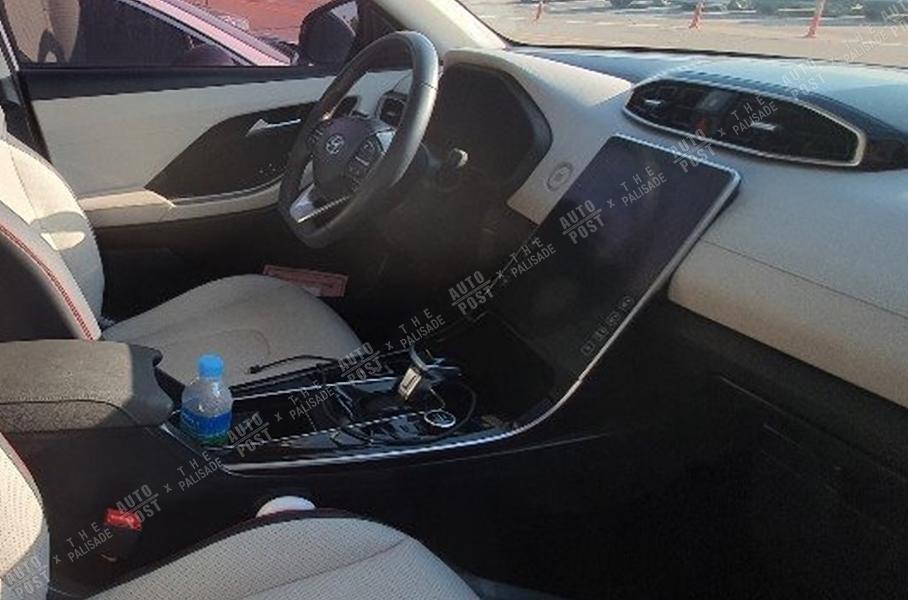 Hyundai Santa Fe получит интерьер в стиле нового Mercedes-Benz S-Class