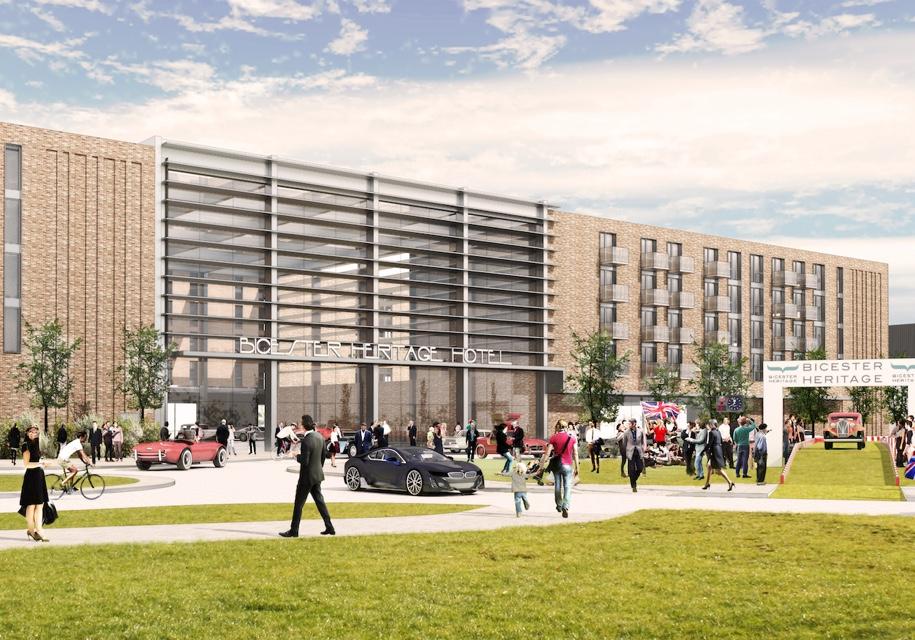 Первый в мире автомобильный курорт появится в Великобритании