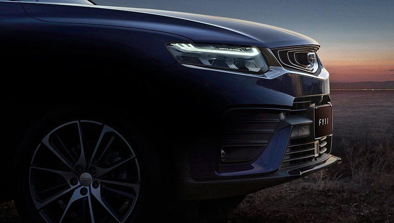Geely раскрыла купеобразную новинку с начинкой от Volvo