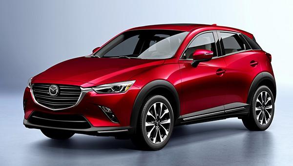 Mazda привезет в Россию компактный кроссовер Mazda CX-3