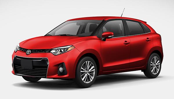 В Сети появились первые изображения хэтчбека Toyota Baleno