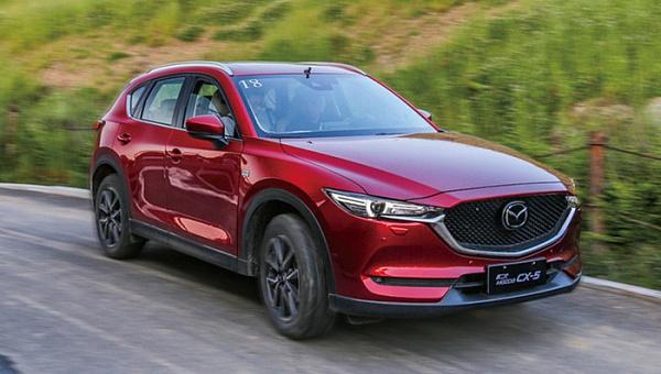 Кроссовер Mazda CX-5 стал бестселлером марки в РФ