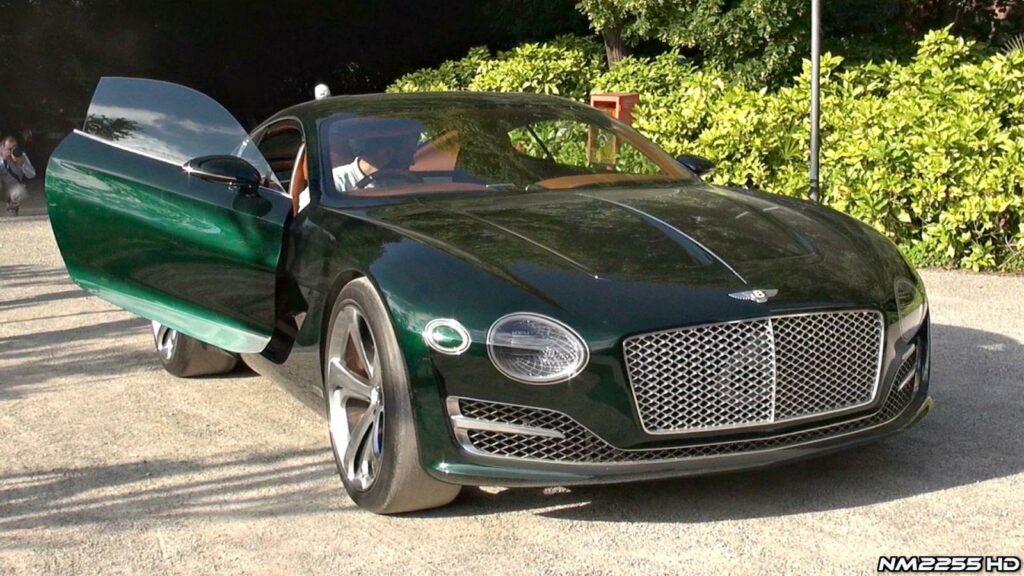 В честь 100-летнего юбилея Bentley покажет концепт будущего