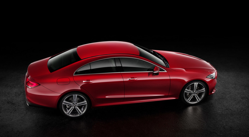 Mercedes-Benz представила новое поколение седана CLS