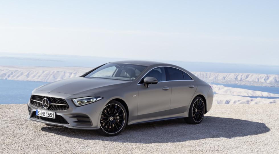 Benz объявил цены на обновленный тип купе CLS