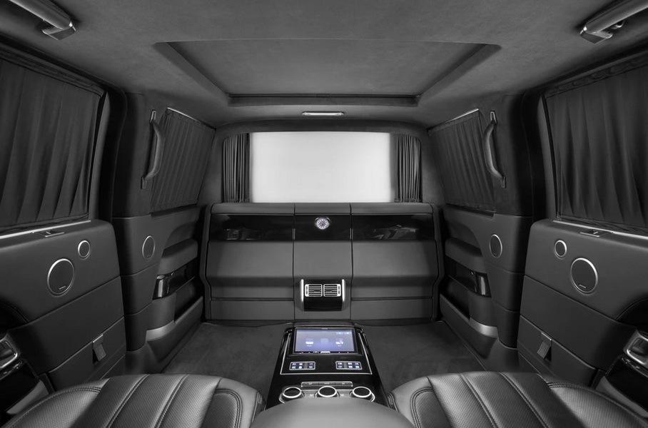 Показан шестиметровый броневик Range Rover за 100 миллионов рублей