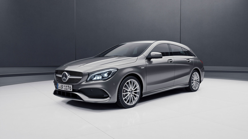 Mercedes-Benz в Женеву везет особую версию универсала CLA