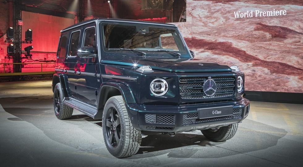Mercedes-Benz начала серийное производство G-Class нового поколения