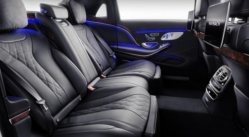 Обновленный седан Mercedes-Maybach S-Class представлен официально