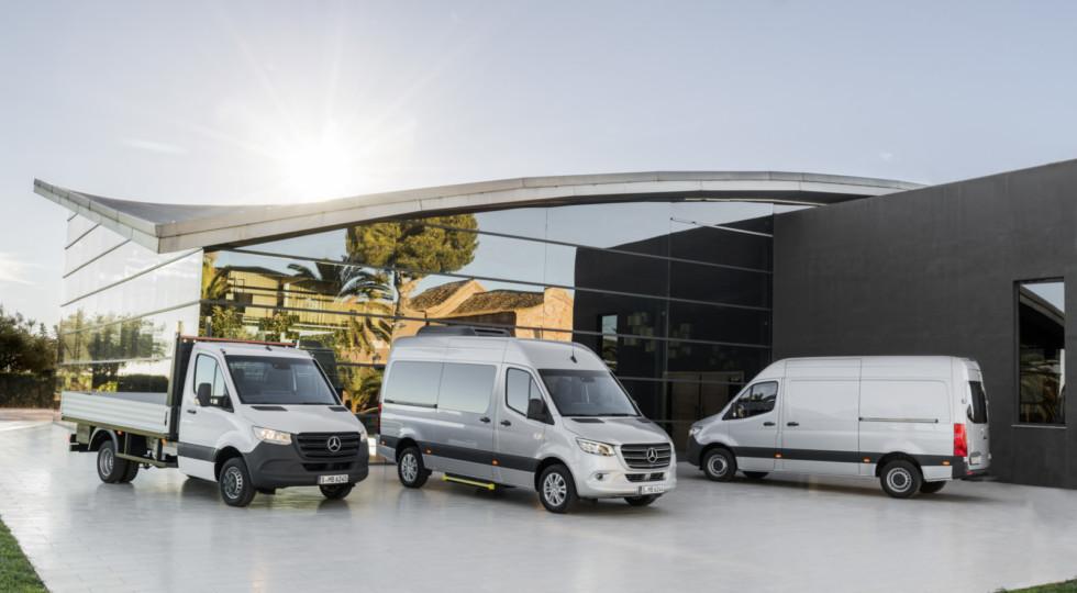 Mercedes-Benz официально представил Sprinter нового поколения