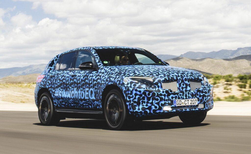 Mercedes-Benz представит свой первый кроссовер EQC 4 сентября