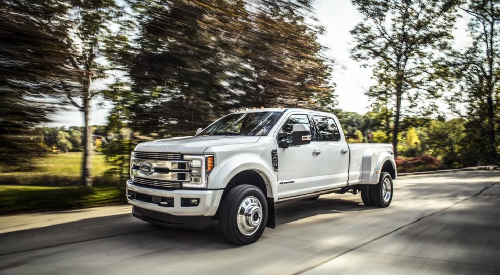 Ford подготовил роскошные версии своих пикапов Ford F-Series
