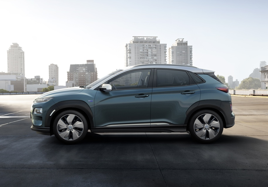 Стали известны цены на новый кроссовер Hyundai Kona Electric