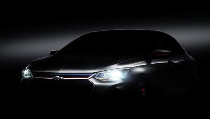 Chevrolet готовит к презентации бюджетный седан Onix