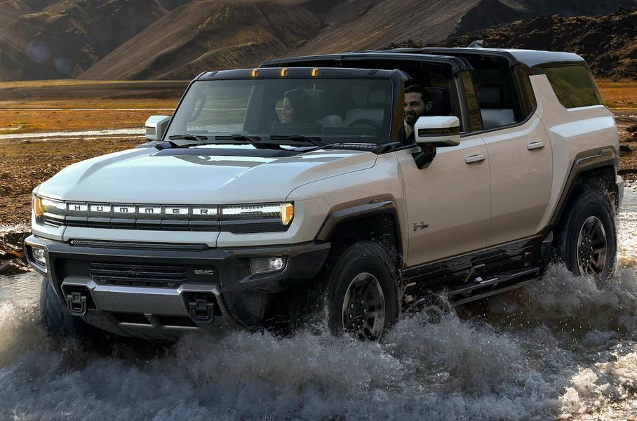 Концерн GM представил электрический внедорожник Hummer EV 2024 года