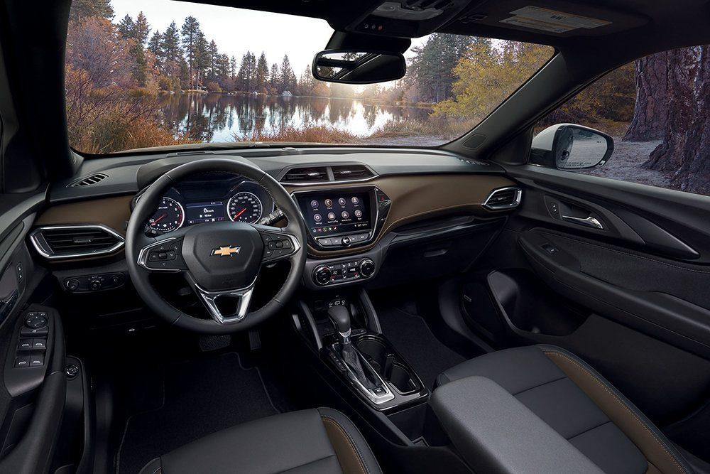 В России начались продажи нового Chevrolet Trailblazer